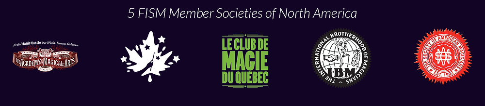 5 magician societies logos
