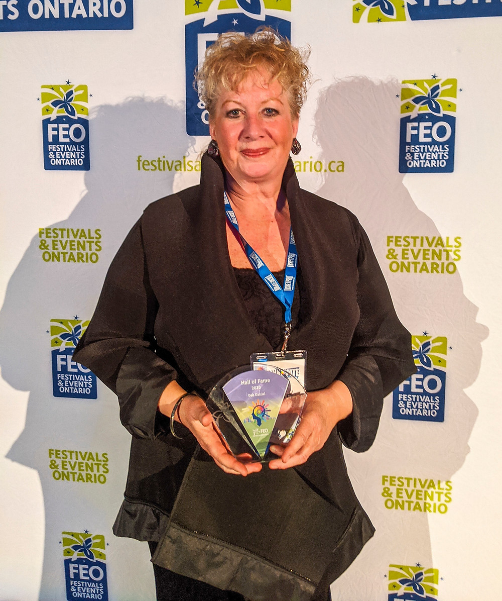 Deb Dalziel inducted to the FEO Hall of Fame