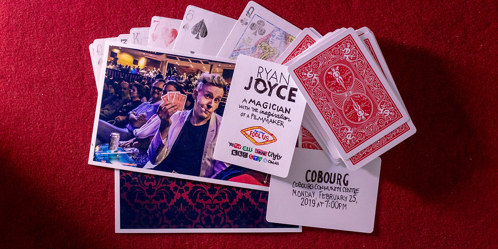 Magician Ryan Joyce Live in Cobourg, ON