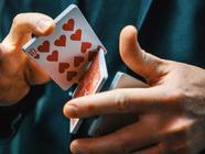 Magician Fancy Playing Card Cuts