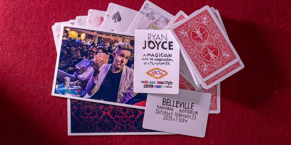 Magician Ryan Joyce Live in Belleville, ON