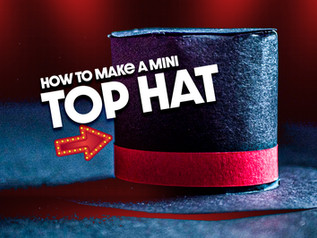 How to Make Top Hat (PDF, Template, Video)