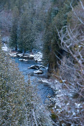 Elora Gorge at winter time