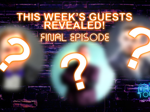 REVEALED! This Friday's final episode guests are...