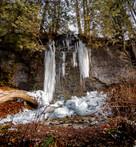Ice along the Elora Cataract Trail