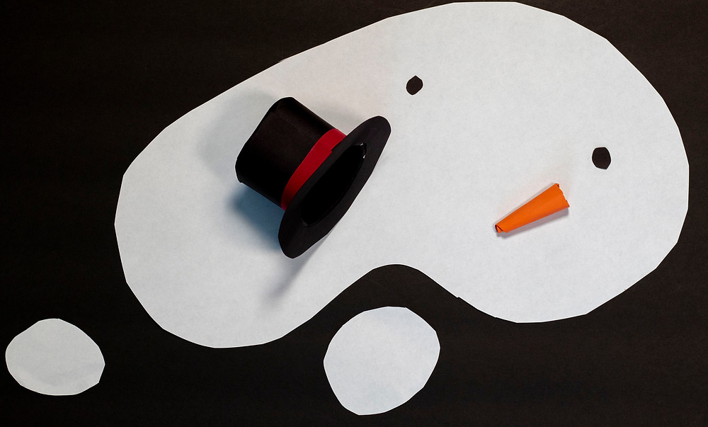 A fun and easy snowman craft with the mini top hat