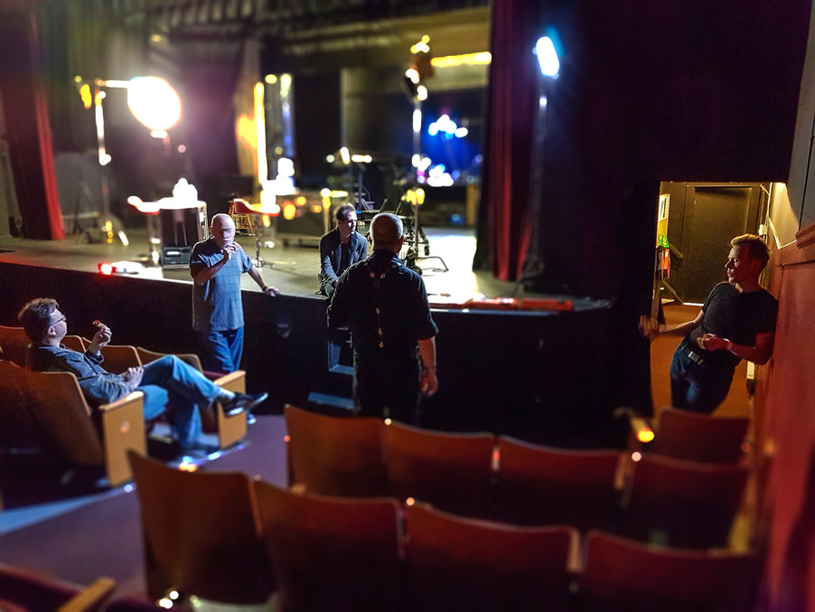 Filming at the Fergus Grand Theatre