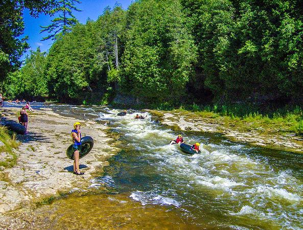 Elora Gorge white water tubing