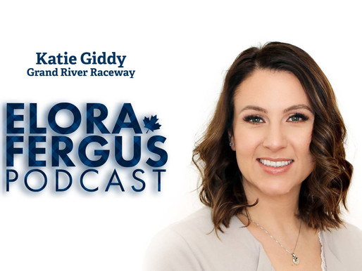 Katie Giddy from Grand River Raceway on Elora Fergus Podcast (Ep 07)