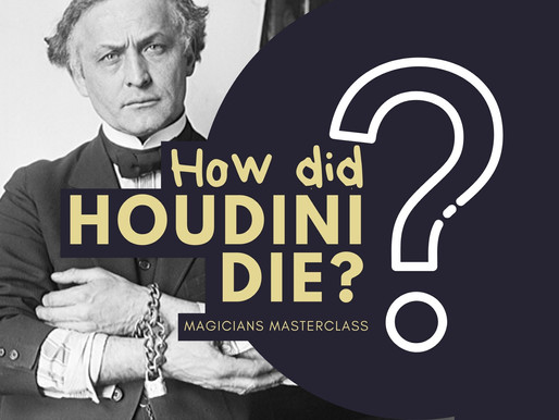 How did Houdini die?