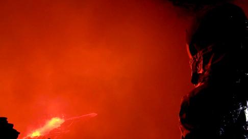 Volcano Ziplining with Frederick Schuett.