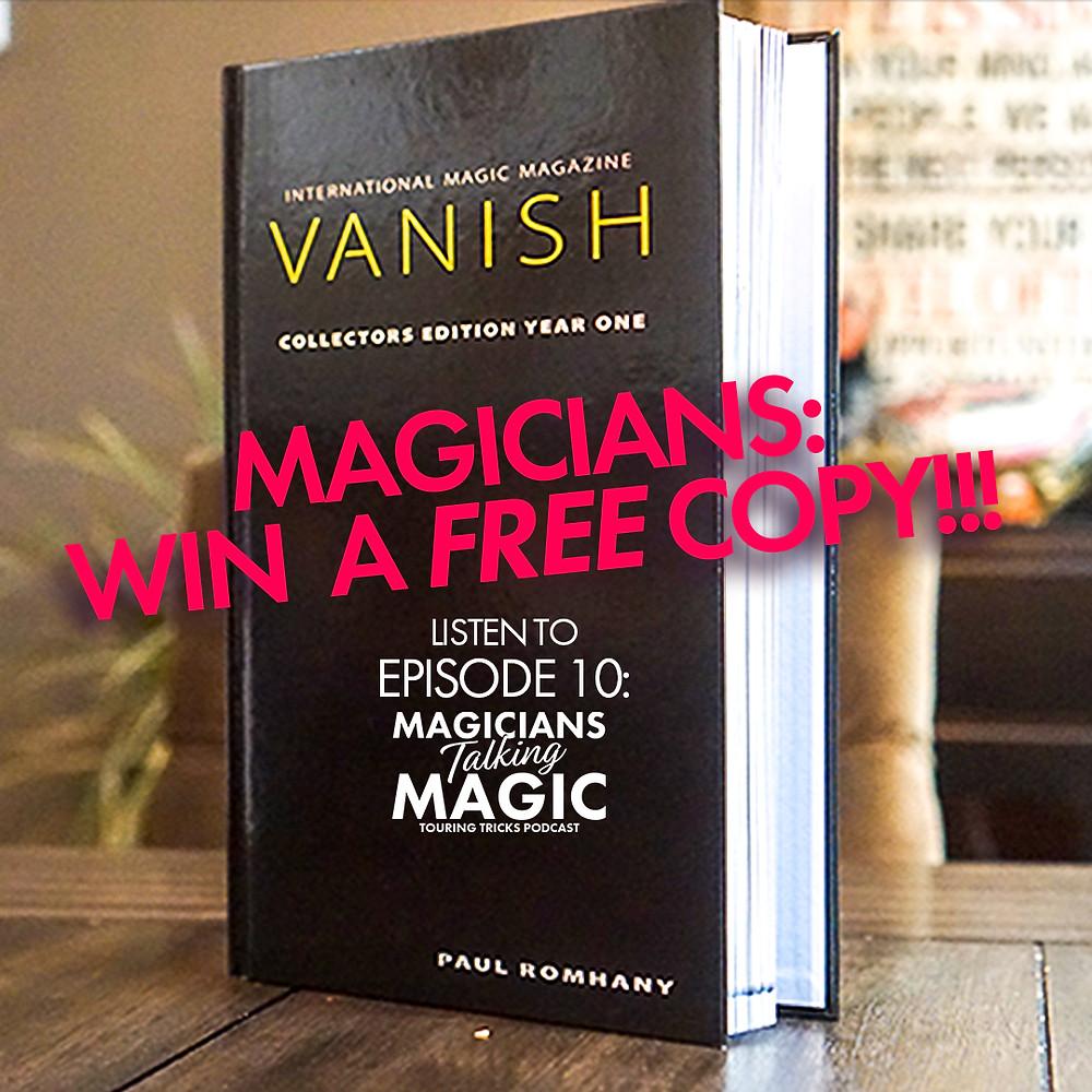 vanish magazine conteset