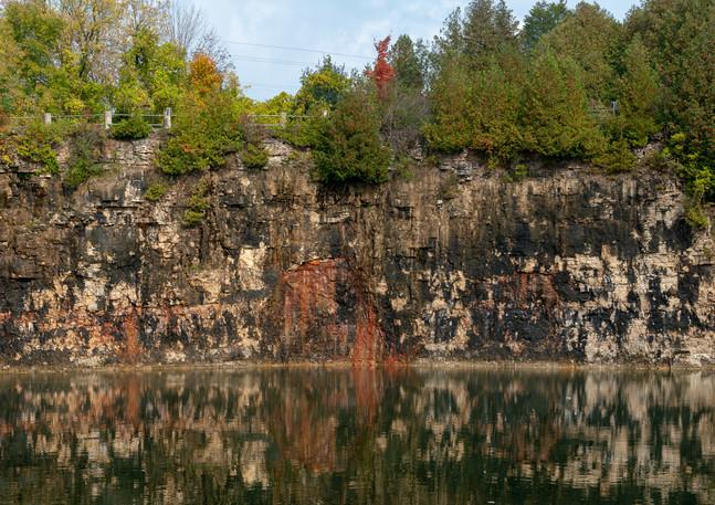 Elora Quarry Limestone Cliffs