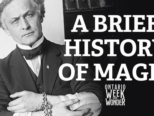 A brief history of magic