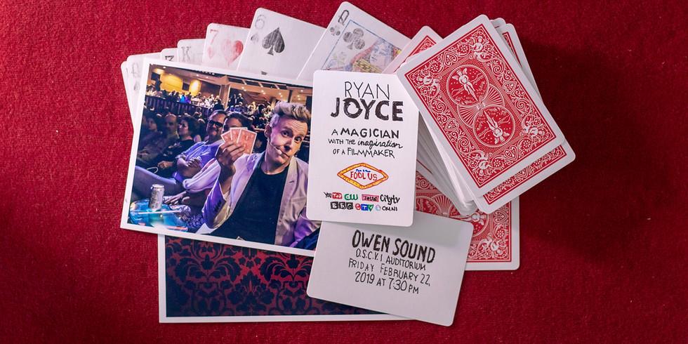 Magician Ryan Joyce Live in Owen Sound, ON