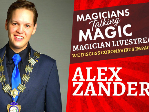 Magician IBM President, Alex Zander shares message for members about coronavirus impacts