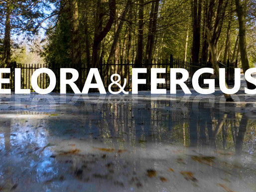 (Video) Spring is in the air!  Best of Elora & Fergus in April