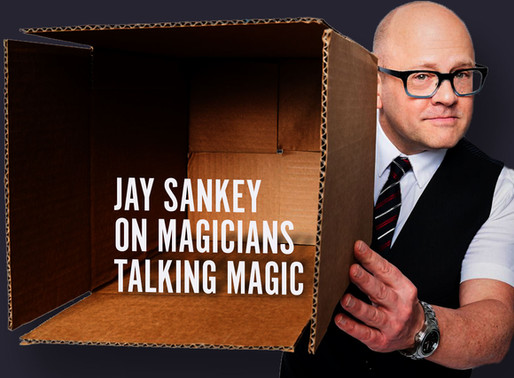 (WATCH) Deep magic thoughts with Jay Sankey.  Discussing magic in his early years.