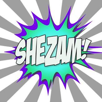 Shezam Magician Podcast Logo