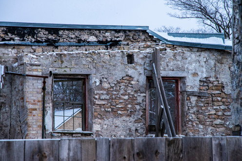 Elora Foundry.  Under construction and soon to be a stunning new feature of downtown Elora
