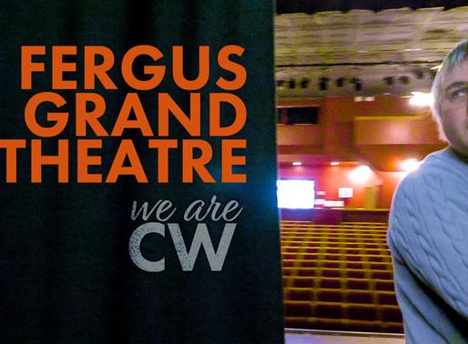 Fergus Grand Theatre: A peak behind the curtain.