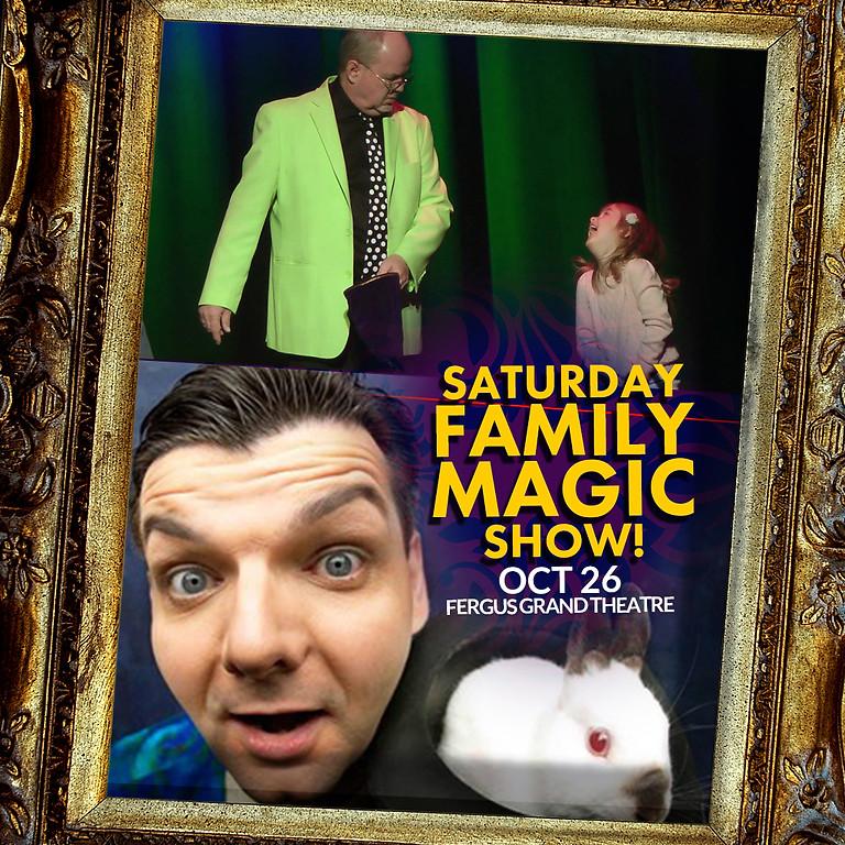 FAMILY MAGIC SAT 2PM   OWOW Magic Festival  SAT OCT 26 at 2PM
