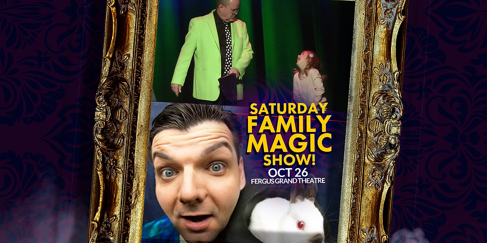 FAMILY MAGIC SAT 2PM | OWOW Magic Festival  SAT OCT 26 at 2PM