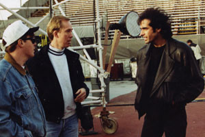 Don Wayne with David Copperfield
