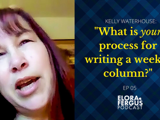 "(VIDEO) ""What is your process for writing a weekly column?"""