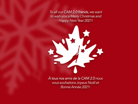 Happy Holidays from CAM! Joyeuses Fêtes!