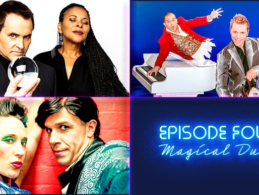"WATCH: Ep 4 ""Magical Duos"" ft The Evasons, Jarrett & Raja, Daredevil Chicken"