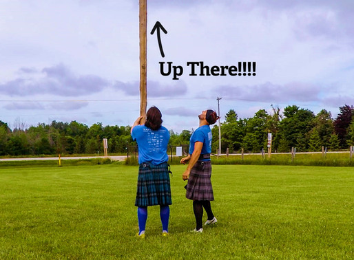 We taped a GoPro to a twenty-foot Caber and tossed it! Here's what happened...