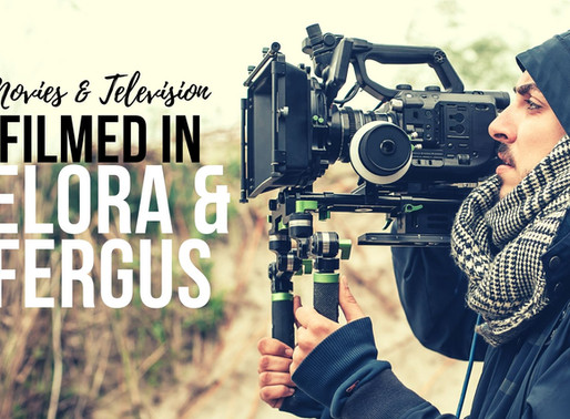 A list of movies and television shows filmed in Elora & Fergus? (VIDEO)