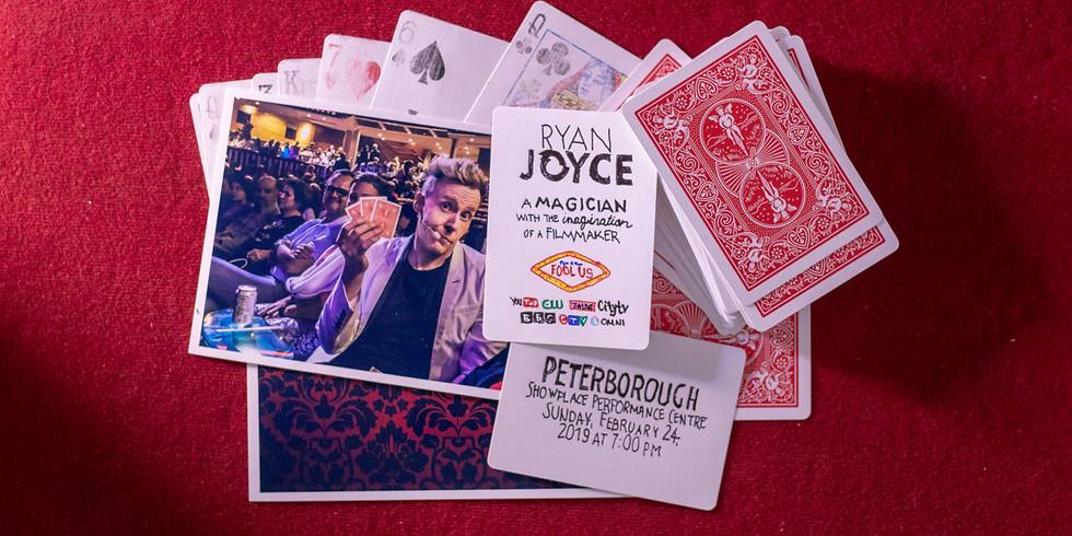 Magician Ryan Joyce Live in Peterborough, ON