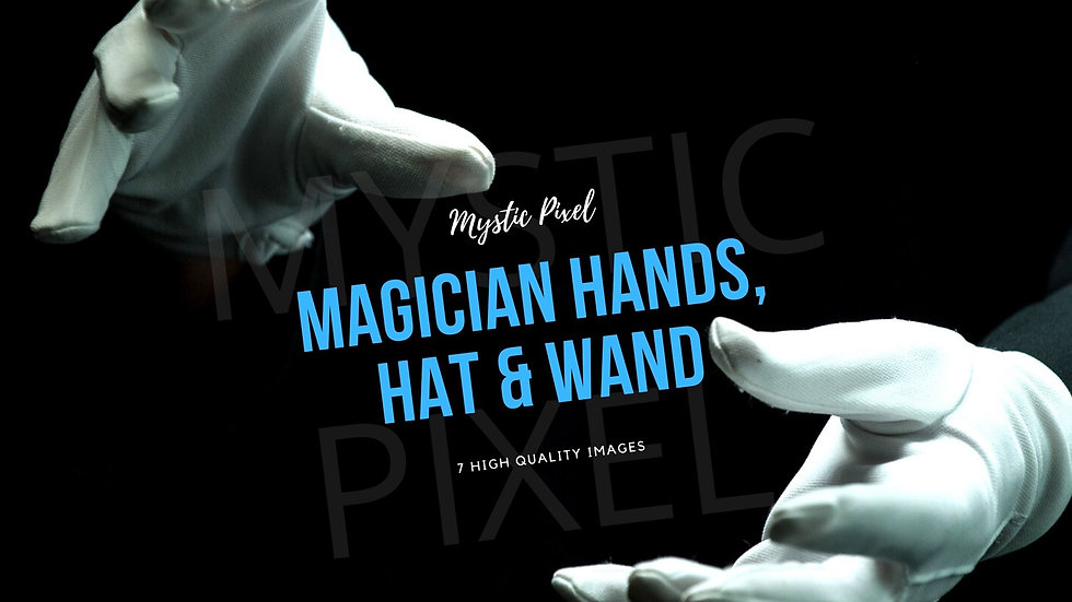 7 Magician Hands Images with Smoke