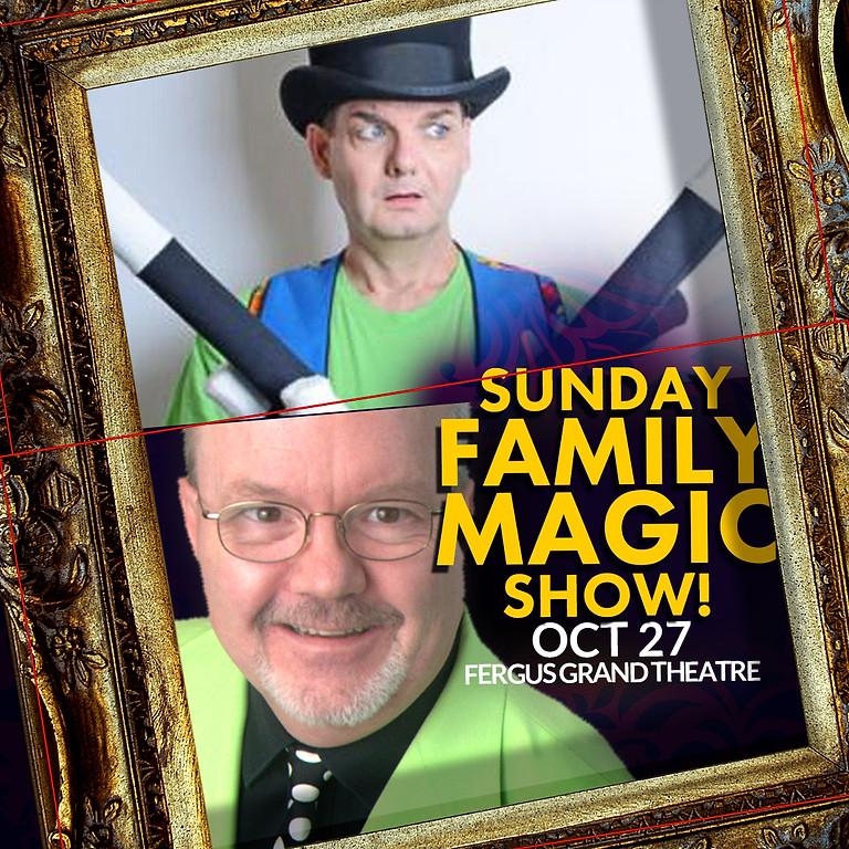 FAMILY MAGIC SUN 2PM   OWOW Magic Festival   SUN OCT 27 at 2PM