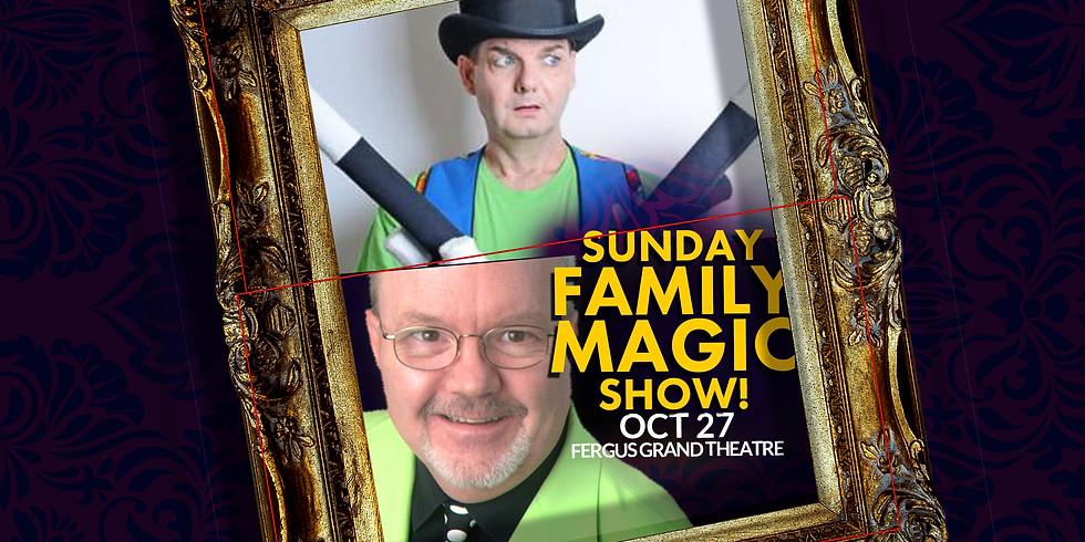 FAMILY MAGIC SUN 2PM | OWOW Magic Festival | SUN OCT 27 at 2PM