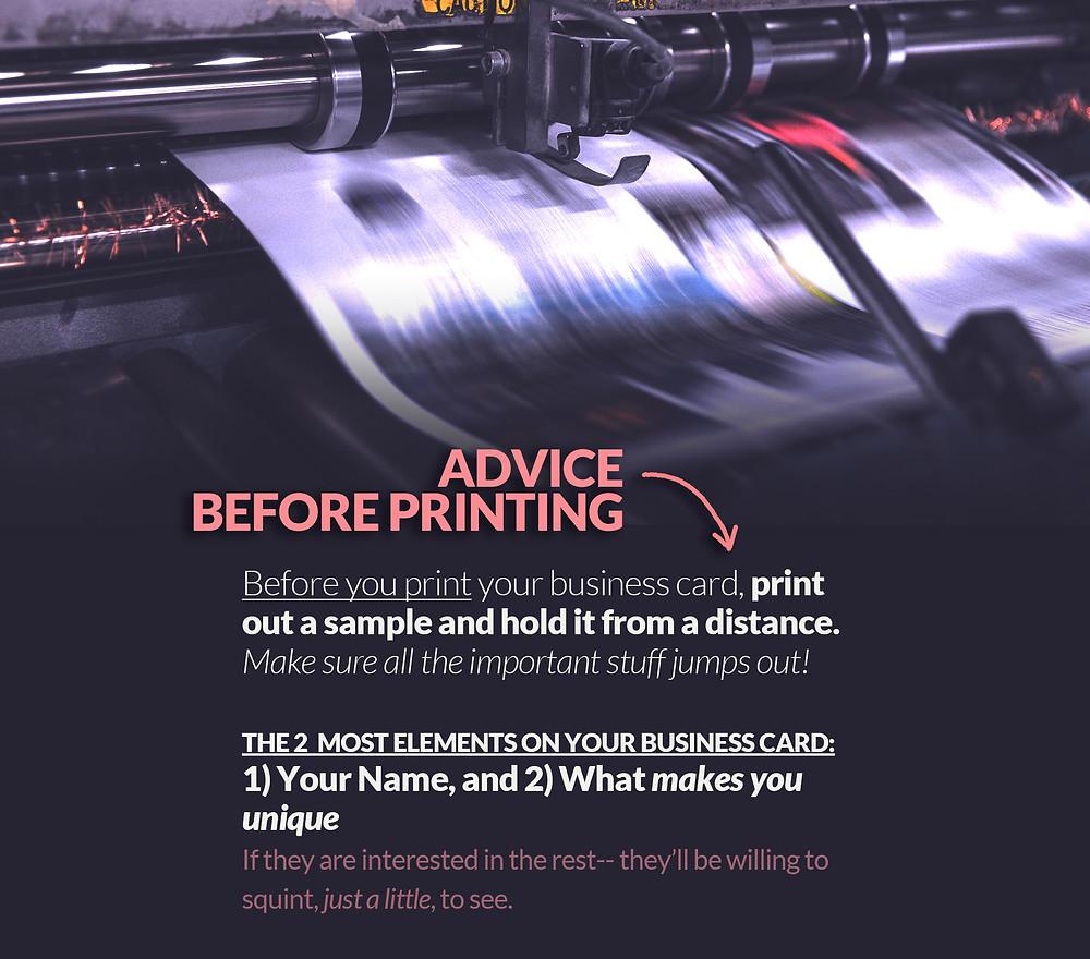 a print press
