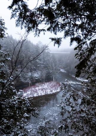 Elora Gorge in December