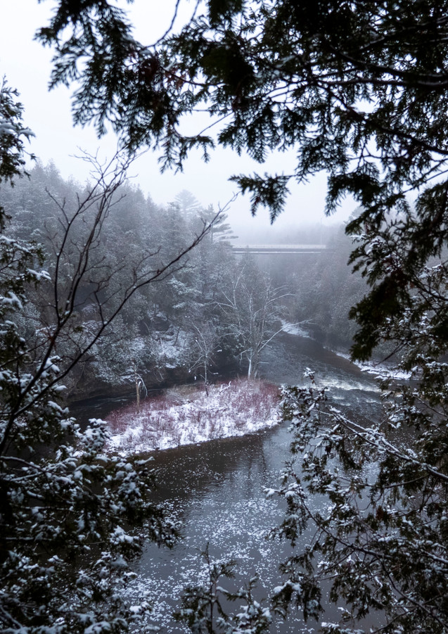 Elora Gorge in December