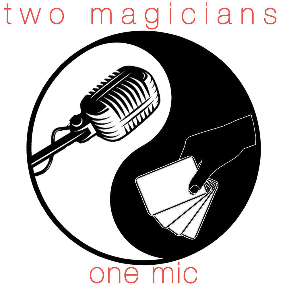 Two magicians and one microphone between them