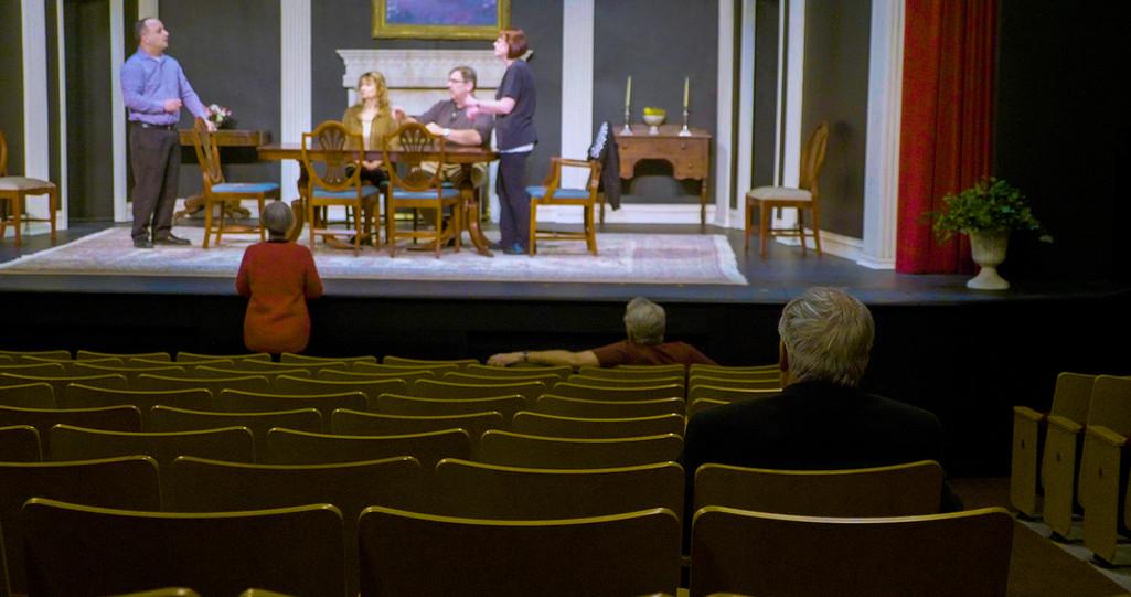 Elora Community Theatre Rehearsal in Progress