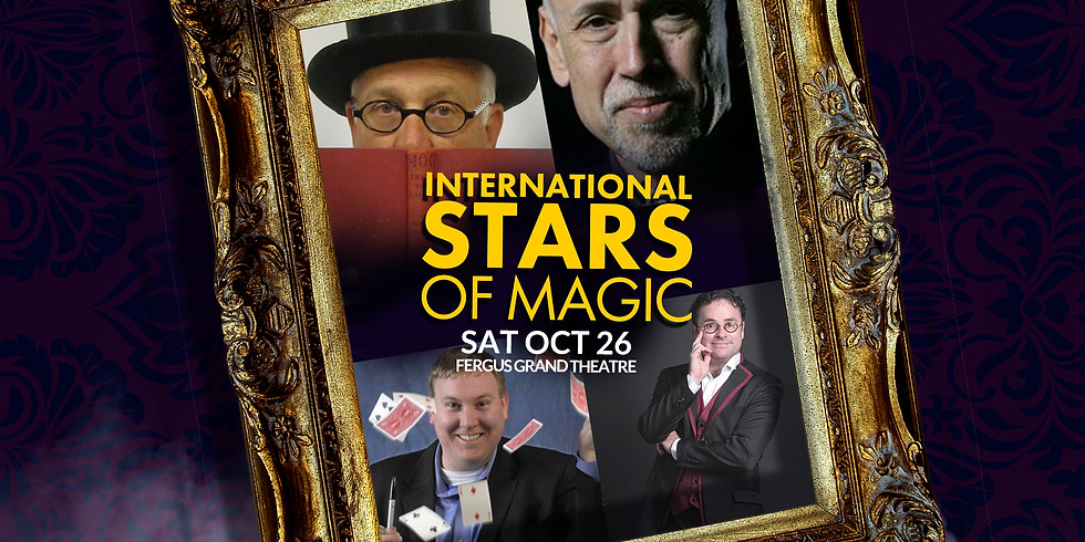 International Magic Champions | GALA | SAT OCT 26 at 7PM