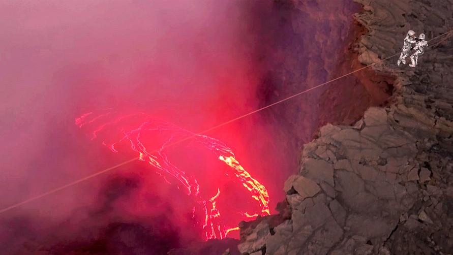 Volcano Zipline with Frederick Schuett