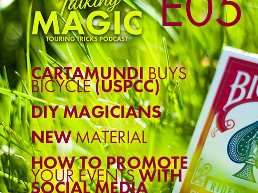 Cartamundi buys Bicycle, DIY magic and how to promote your next show