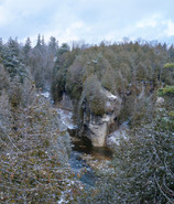 Snowy Elora Gorge