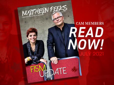 July 2021 Northern Peeks is out!! READ HERE! (Members)
