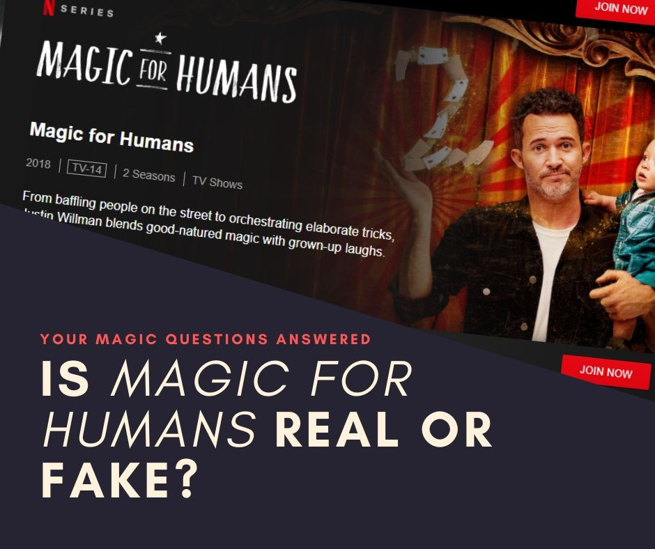 Magician Justin Willman