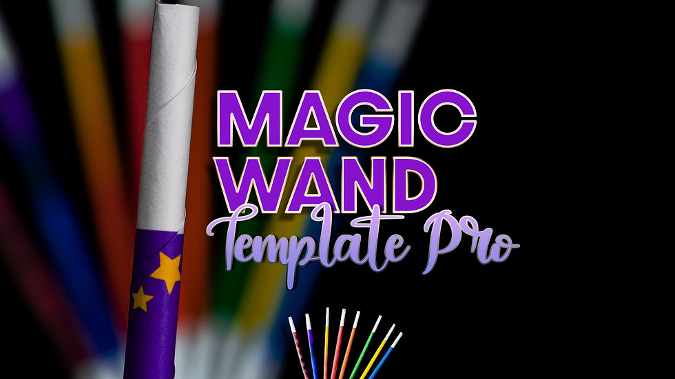 Magic Wand Template