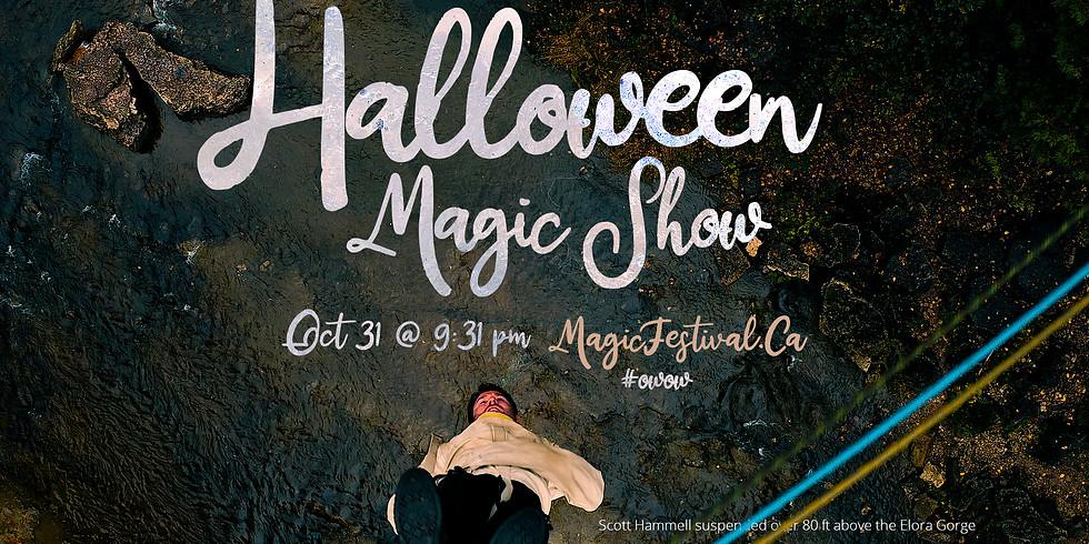 Halloween Magic Show Livestream 2020